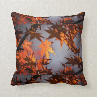 Fall Wonderland of Autumn Colour Throw Pillow