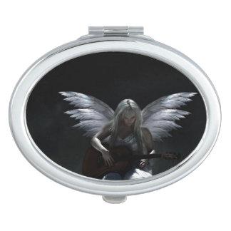 Fallen Angel - dark guitar Makeup Mirror