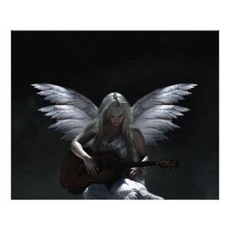 "Fallen Angel ""dark guitar"" Photo Print"