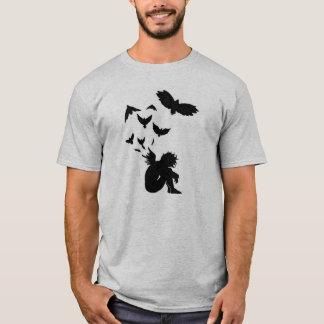 Fallen Angel Grey T-Shirt