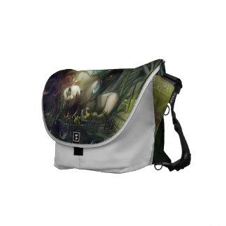 fallen angel messenger bag