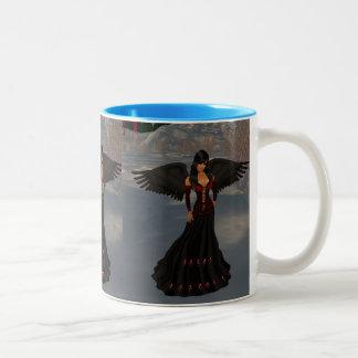 Fallen Dark Angel Mug
