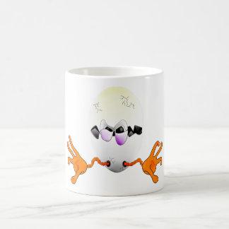 fallen egg coffee mug