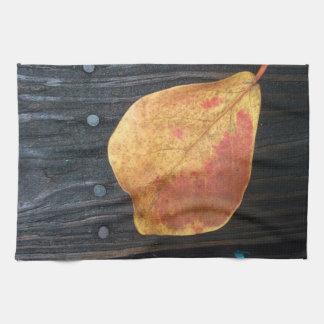 Fallen Leaf Kitchen Towel
