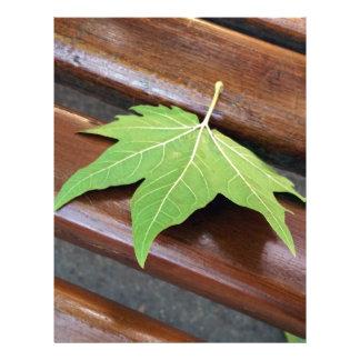 fallen leaf letterhead