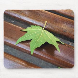 fallen leaf mouse pad