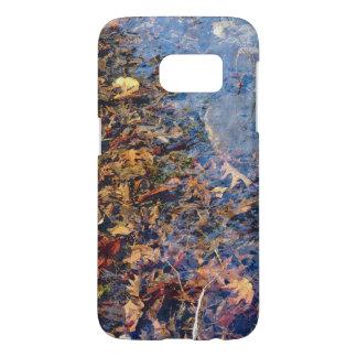Fallen Leaves Fall & Winter Autumn Nature Art Samsung Galaxy S7 Case