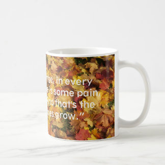 Fallen leaves mug