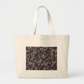 Fallen Maple Leaves Large Tote Bag