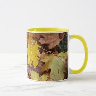 Fallen Maple Leaves Mug