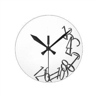 Fallen Numbers Clocks