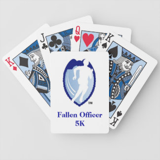 Fallen Officer 5K Bicycle Playing Cards