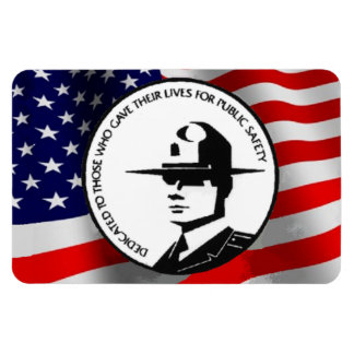 FALLEN POLICE OFFICERS MAGNET