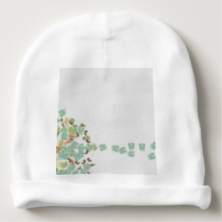 Fallen tree abstract baby beanie