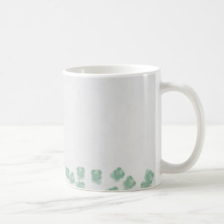 Fallen tree abstract coffee mug