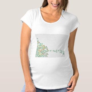 Fallen tree abstract maternity T-Shirt