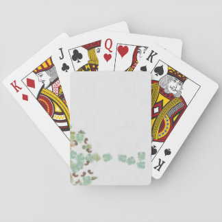 Fallen tree abstract playing cards