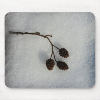 fallen twig mouse pad