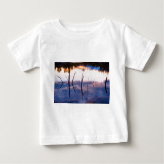 Fallen Twiggy Reflections Baby T-Shirt