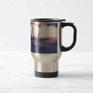 Fallen Twiggy Reflections Travel Mug