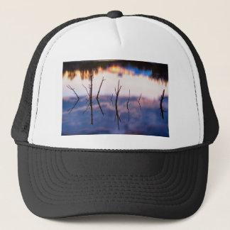 Fallen Twiggy Reflections Trucker Hat