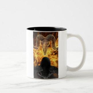fallen Two-Tone coffee mug