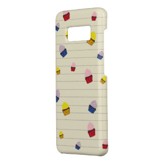 Falling Angry CupCakes Case-Mate Samsung Galaxy S8 Case