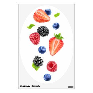 Falling berries wall sticker