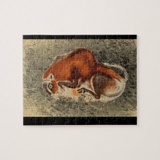 Falling Bison', Altamira_Art of Antiquity Jigsaw Puzzle