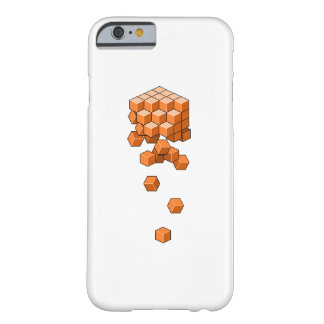 Falling Cubes Barely There iPhone 6 Case