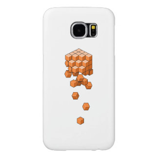 Falling Cubes Samsung Galaxy S6 Cases