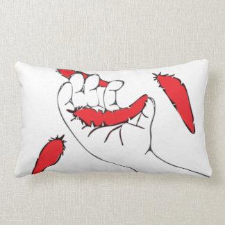 Falling Feathers Lumbar Pillow