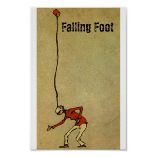 Falling Foot live Poster