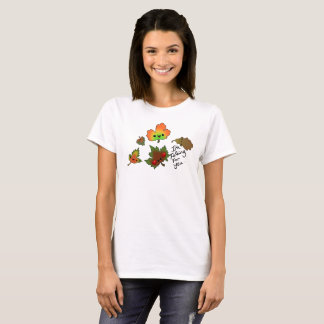 Falling For you group of Leaves tee