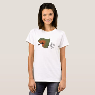 Falling For you Leaf tee 2
