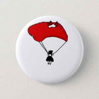 falling hard 2 inch round button