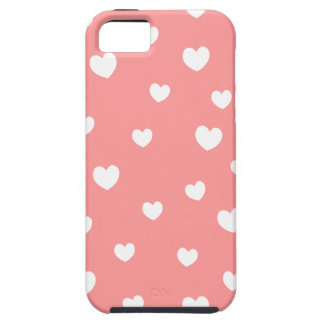 falling hearts iPhone case- choose your background Case For The iPhone 5