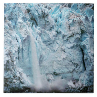Falling Ice Photo Tile