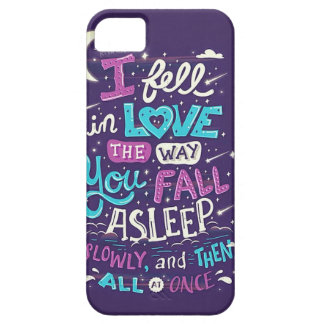 Falling in love iPhone 5 case
