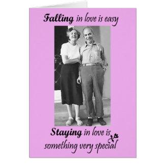 Falling In Love Is Easy Card