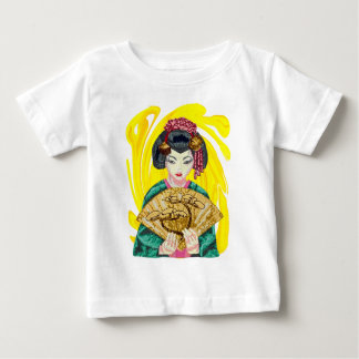 Falling in Love with the Geisha Girl Baby T-Shirt
