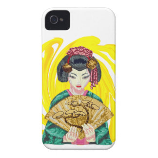 Falling in Love with the Geisha Girl iPhone 4 Cases