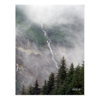 Falling into Juneau Postcard