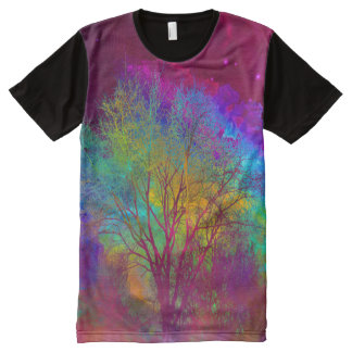 Falling into Space All-Over-Print T-Shirt