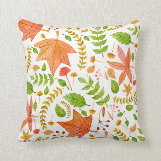 Falling Leaves fall decor, fall leaf pillow
