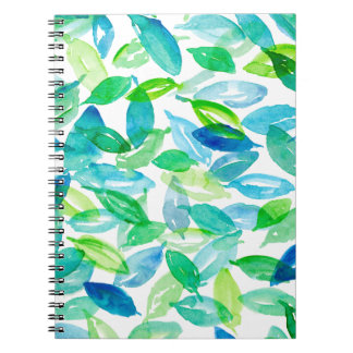 Falling Leaves Notebook