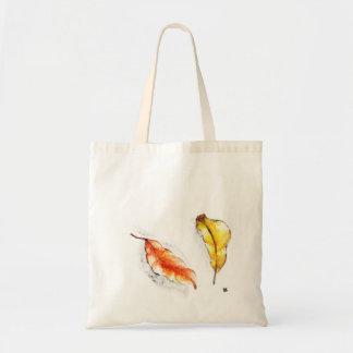 Falling leaves of the tree of my grandmother tote bag