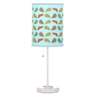 Falling Leaves Pattern Lampshade Table Lamp
