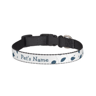 Falling leaves pet collar