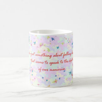 Falling Leaves Quote Mug